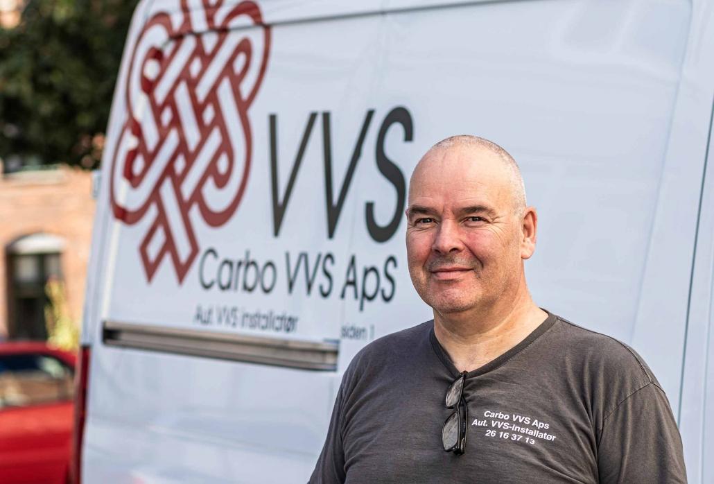 Carbo VVS ApS portræt baggrund